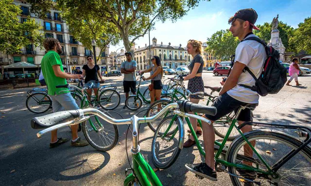 An overview of bike tours in Barcelona