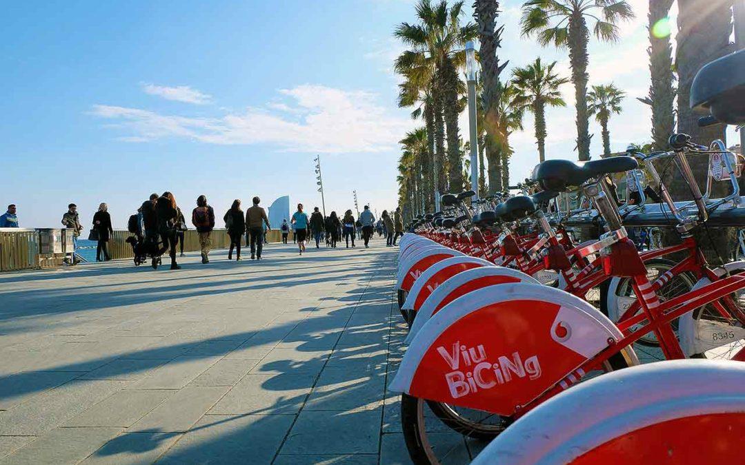 Bike transportation in Barcelona