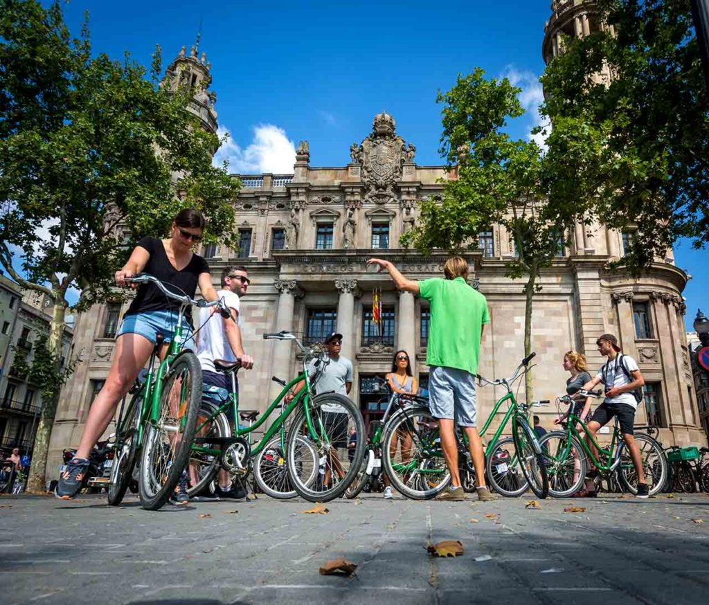 The increasing popularity of bikes in Barcelona