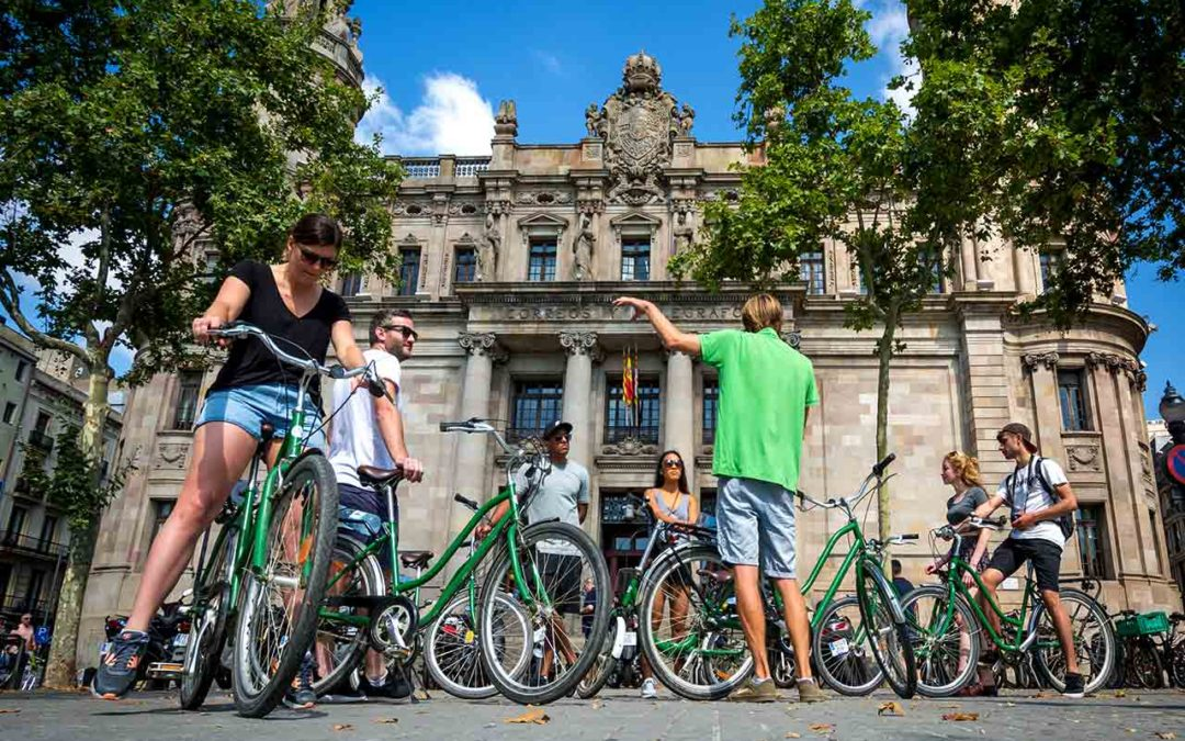 The increasing popularity of bikes in Barcelona